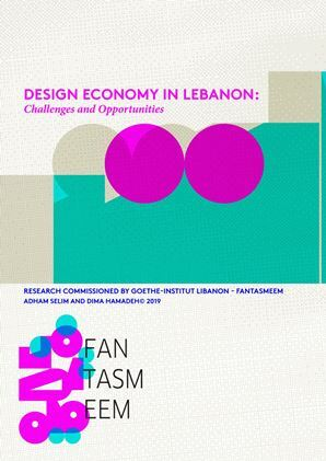 """Bei der Publikation """"Design Economy in Lebanon: Challenges and Opportunities"""" (2019) von Dima Hamadeh & Adham Selim handelt es sich um das erste im Rahmen von FANTASMEEM Findings beauftragte Forschungsprojekt. Die Publikation adressiert die Chancen und Herausforderungen des Designsektors als eigenständige Wirtschaftsbranche im Libanon und stützt sich auf eine eingehende Analyse von Daten aus staatlichen, institutionellen und individuellen, lokalen und internationalen Quellen. Es befasst sich mit den wesentlichen Merkmalen der Designökonomie im Libanon, einschließlich des rechtlichen Rahmens, der Finanzierungsmodelle, der Lieferketten und der Marktbedingungen."""