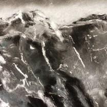40 x 70 cm - Pastel sec