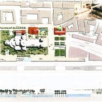 Concours Esplanade de la Major-vue de haut