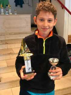 Sieger Clubmeister der Jüngstensegler Steuermann - Lars Piefke