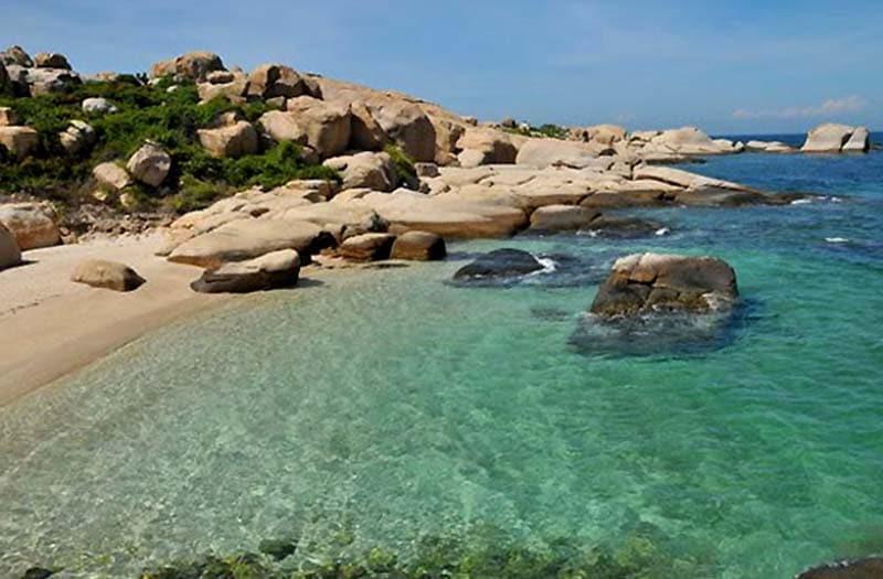 Ghenh island, Mui Ne, Phan Thiet, Vietnam