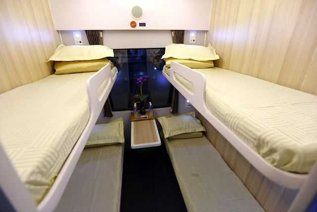 Air conditioned soft sleepers (4 berth)