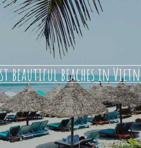 Most beautiful beaches in Vietnam