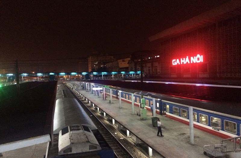 Hanoi railway station.