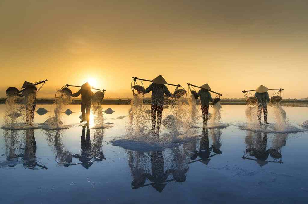 Ca Na - Ninh Thuan ( Salt Fields in Vietnam)