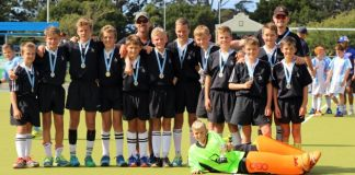 HOCKEY SIEGE: The Selborne U13A hockey side were invited to play in the fourth Grey PE hockey festival which was held on April 21-23. Grey Junior in Port Elizabeth have won the past three tournaments. On the Sunday, Selborne walked away with the trophy by beating Grey on home ground. No goals were scored against Selborne during this tournament and Charlie Caswell was the goalkeeper of the tournament Picture: SUPPLIED