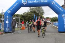 Cycling to the finish line