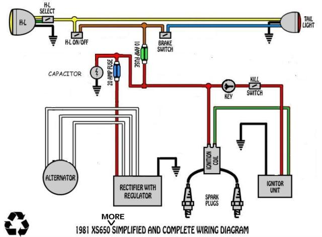 Harley Wiring Diagrams Simple | hobbiesxstyle on shovelhead headlight wiring diagram, basic motorcycle wiring diagram, simplified wiring diagram for shovelhead, simplified motorcycle wiring diagram, chopper wiring diagram,