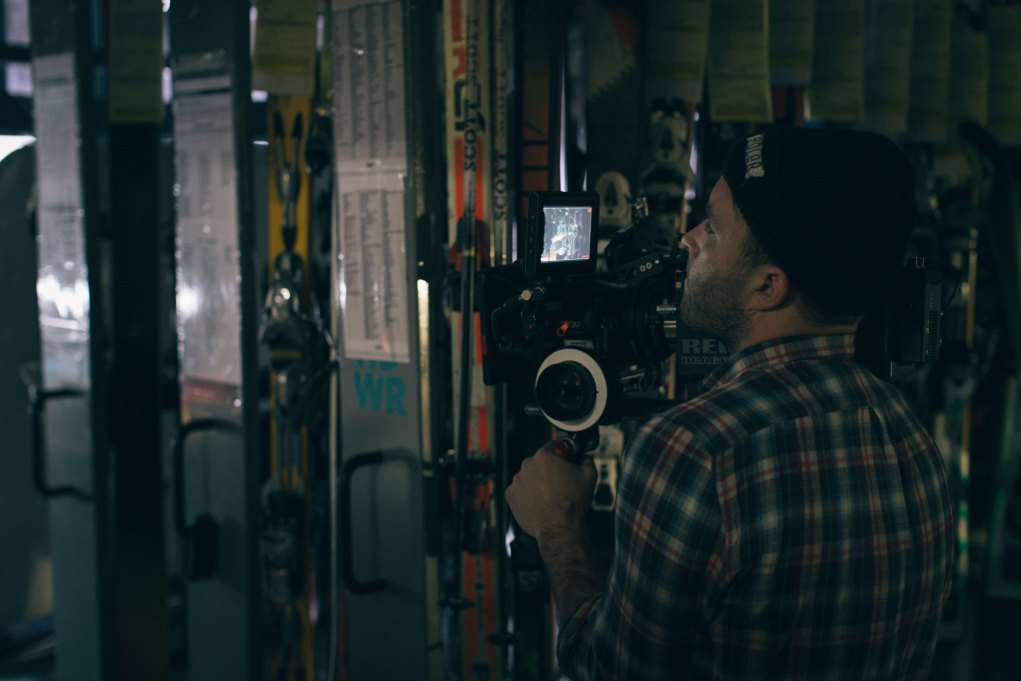 A whistler production with DP Liam Mitchell shooting on location