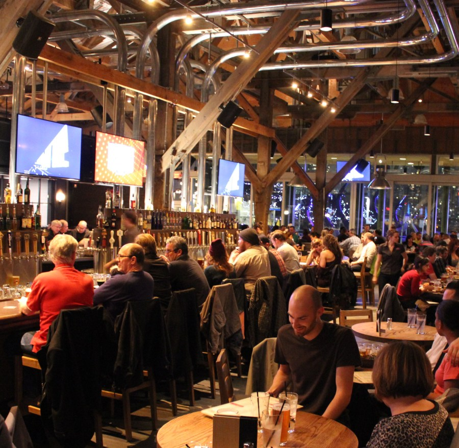 Craft Beer Market is a 400-seat, beer-focused restaurant with 140 craft beers on tap.