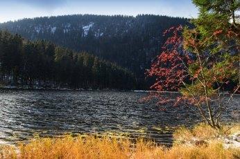 Large Javor lake