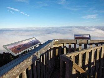 View from Boubin mountain