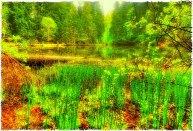 Boubin lake