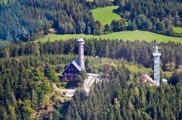 Svatobor hill by Susice