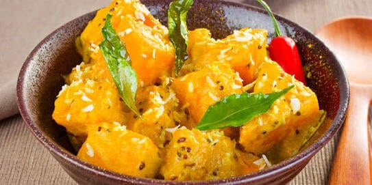 Pumpkin Curry - Hot and Sour Curry