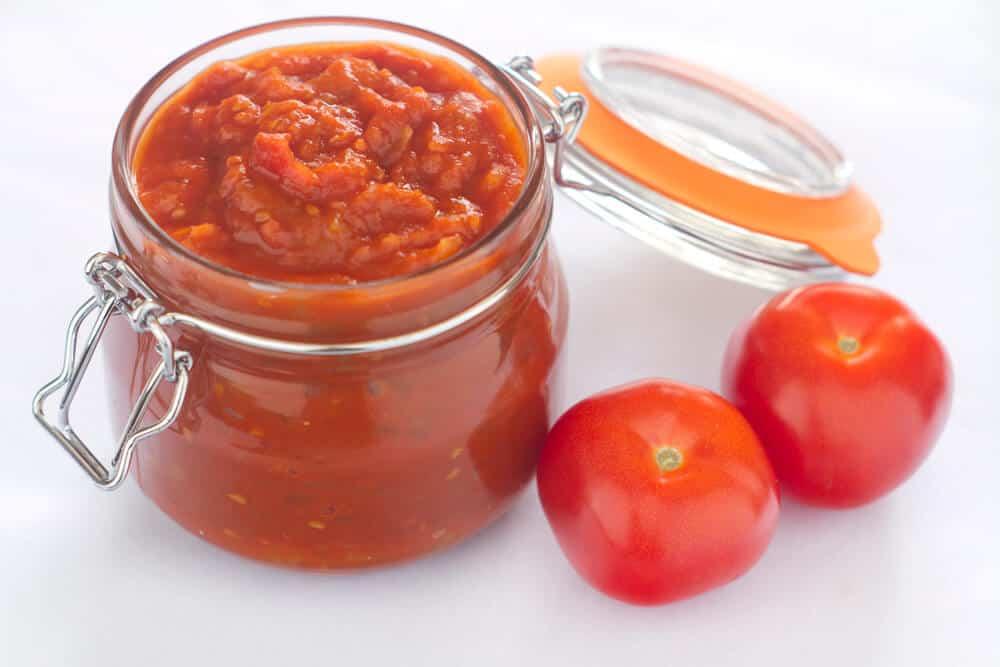 Garlic Tomato Roasted Chutney