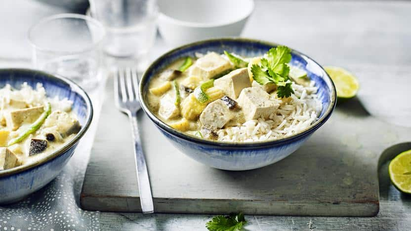 Tofu Green Curry