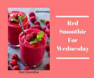 Red Smoothie recipe
