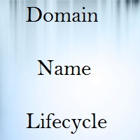 life of a domain or domain name lifecycle