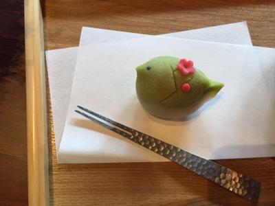 梅に鶯 カフェ 西尾 竹次郎