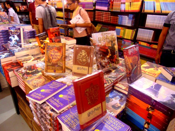 Harry Potter series on sale at Fully Booked!