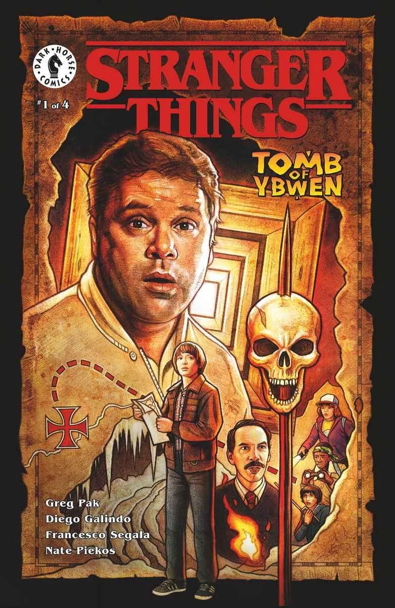 Read this of Strangers Things and Goonies combo