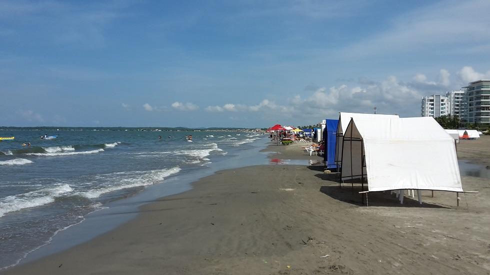 Strand Cartagena