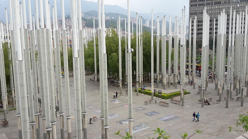 Sehenswürdigkeiten Medellín Parque de la Luz