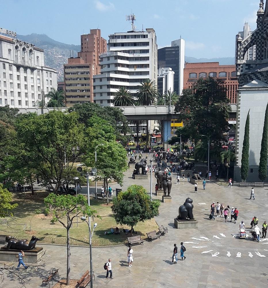 Sehenswürdigkeiten Medellín Plaza Botero