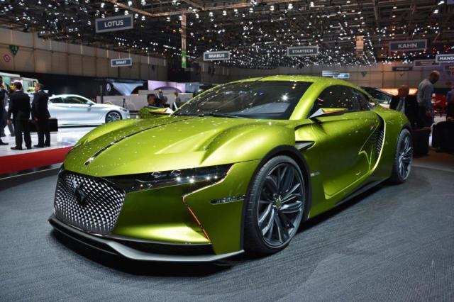 Бренд DS готовится к выпуску полноприводного электромобиля E-Tense (ФОТО)