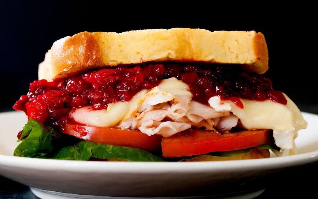 Spicy Cranberry-Pepper Jam Turkey Sandwiches