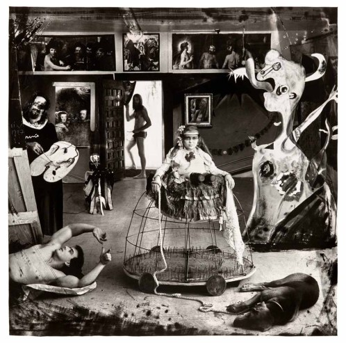 Las Meninas, 1987. Gelatin Silver Print, 30 x 40 inches  ©Joel-Peter Witkin & Courtesy of Jack Rutberg Fine Arts, Los Angeles