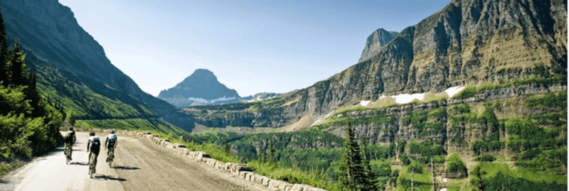 going to the sun road, rental,bike,glacier national park, ride, rental, road bike, hybrid, tour