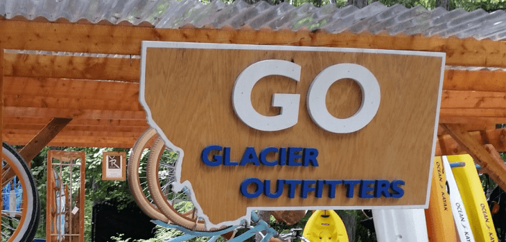 Glacier Outfitters Rentals National Park