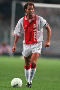 Danny Blind in betere tijden bij Ajax