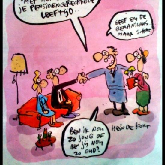 Van Gaal feliciteert Cruijff - Hein de Kort
