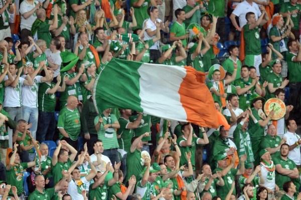 Ierse fans op Euro2012