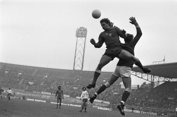 FC Amsterdam-Ajax oktober 1975