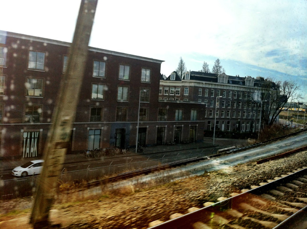 Amsterdam By Train - © Gogme United