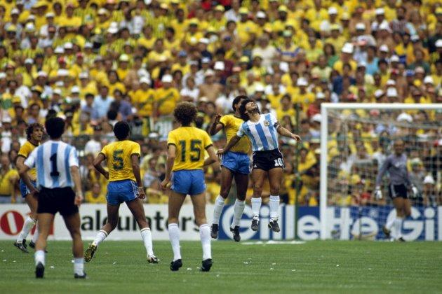 WK1982: Argentinië-Brazilie