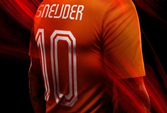 Rugnummers Oranje 2014