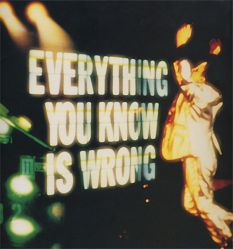 U2 Everything You Know Is Wrong
