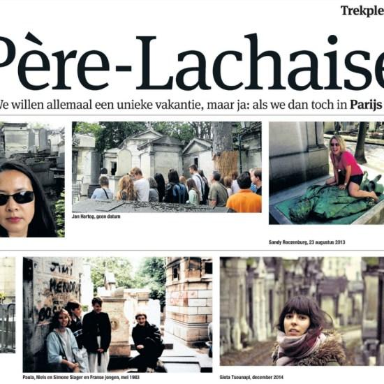 Trekpleister Père-Lachaise