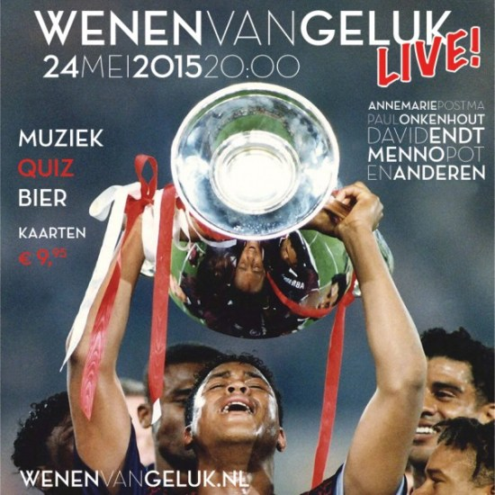 Wenen van Geluk LIVE!