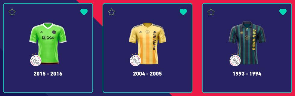 Ajax lelijkste uitshirt Top3