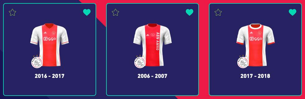 Ajax thuisshirt Adidas Top3