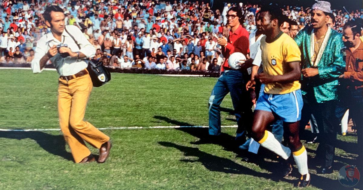 Pelé, Foto: Peter Robinson
