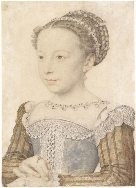 Margeurite de Valois sketch