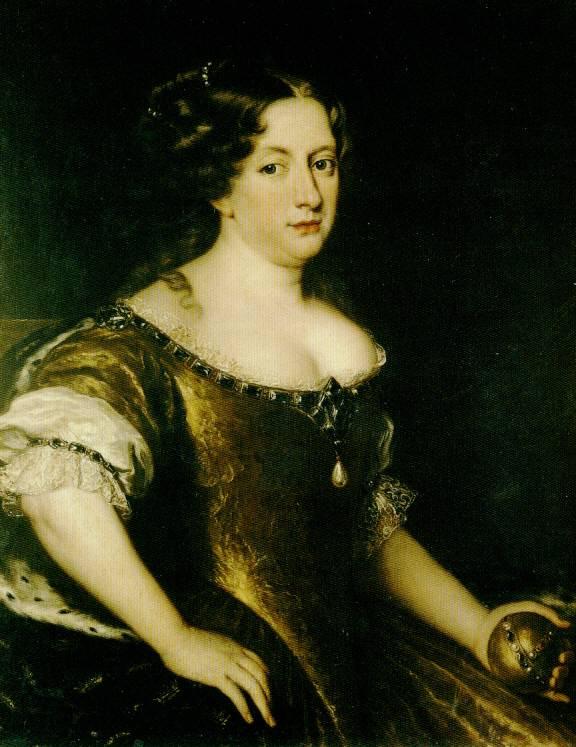 1670Cristina regina di SveziaxVoet