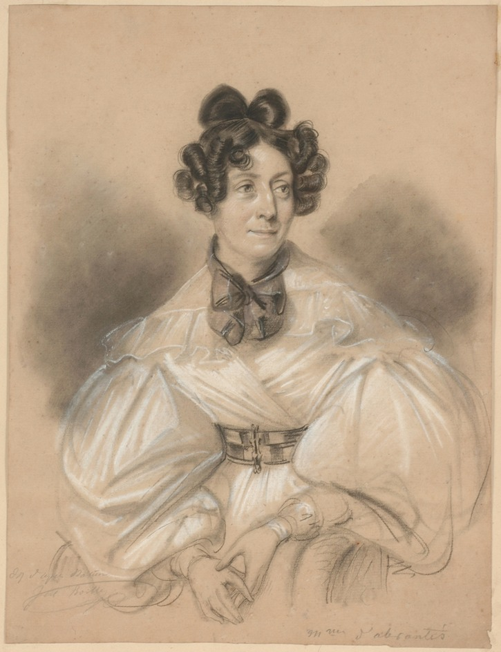 ca. 1835 Laure-Adelaide Junot, Duchess d'Abrantes by Jules Boilly (Boris Wilnitsky)